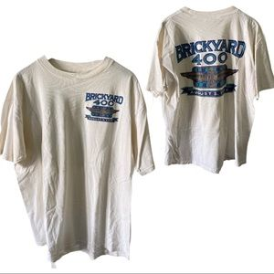1995 Original Brickyard 400 NASCAR racing tee 2XL